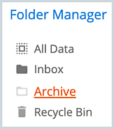 Close up Folder Manager 2